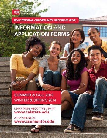 EOP Application - San Francisco State University