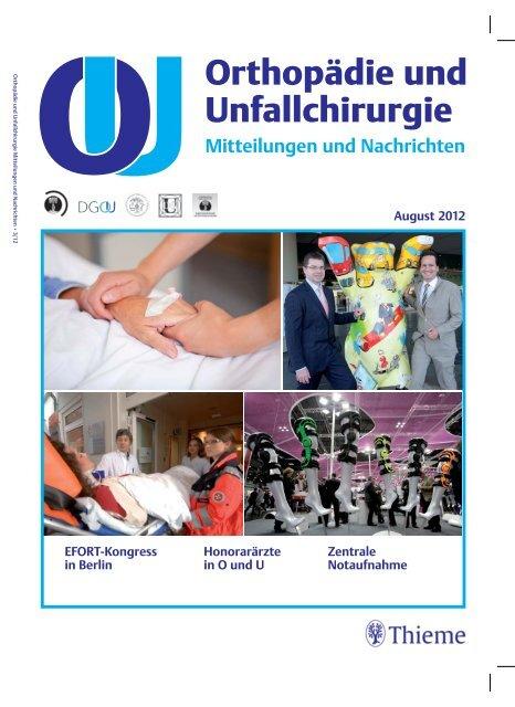Orthopaƒa Die Und Unfallchirurgie Deutsche Gesellschaft Faƒa R