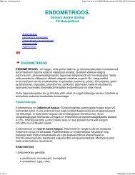(M\374oom, endometrioos) - Perearstikeskus.ee