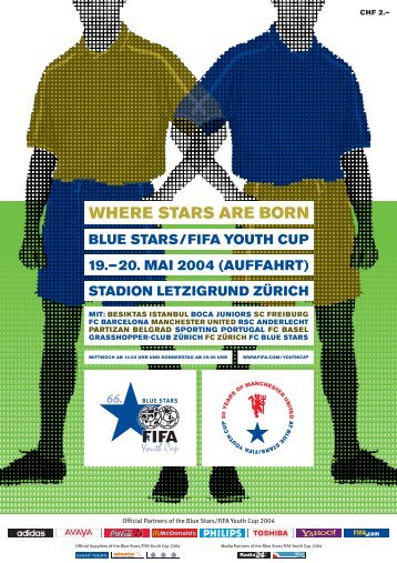 WHERE STARS ARE BORN - 75. Blue Stars/FIFA Youth Cup