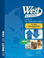 Learn more - West Los Angeles College