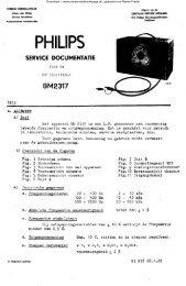 GM - 2317 ; PHILIPS ; RC - Rainers - Elektronikpage