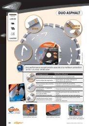 Disques diamants - Asphalte et produits abrasifs - Norton ...