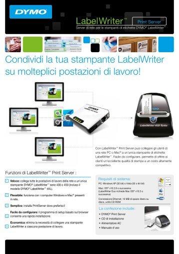 LabelWriter™ Print Server - DYMO