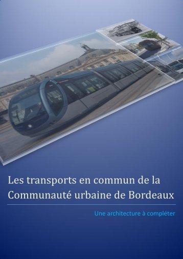 transport en commun de la CUB - Participation de la CUB et de ses ...