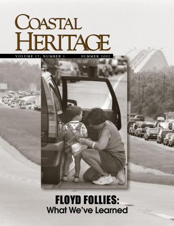 Coastal Heritage, Vol. 17, No. 1, Summer 2002 - SC Sea Grant ...