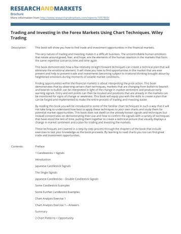 Trading and Investing in the Forex Markets Using Chart Techniques ...