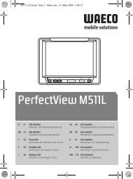 PerfectView M511L - Waeco