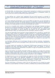 6.7. Victimes d'accidents technologiques : nouveau système d ...