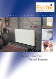 ADAX Norel - Electric Heating Solutions