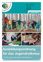 Ausbildungsordnung für das Jugendrotkreuz - JRK Karlsruhe