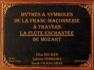 Mythes & symboles de la Franc-maçonnerie à travers ... - Petit Fichier
