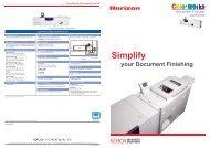 ColorWorks 500 Booklet Maker - Xerox