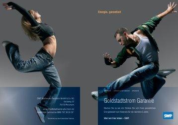 Goldstadtstrom Garantie - Stadtwerke Pforzheim