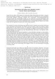 Konzeption und Aufbau eines digitalen Archivs - Landesarchiv ...