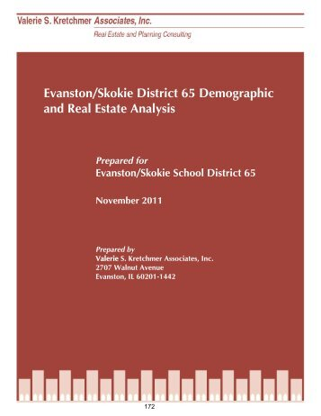 Evanston/Skokie District 65 Demographic and Real Estate Analysis ...