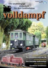 Die unabhängige Zeitschrift für den Großbahnfan - Champex-Linden