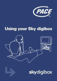 Using your Sky digibox - Astra2.org