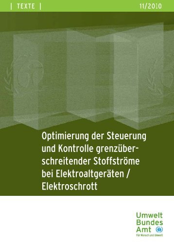 Optimierung der Steuerung und Kontrolle grenzüberschreitender ...