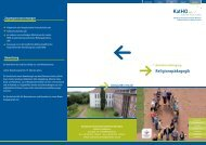 Religionspädagogik B.A. (pdf, 311.5 kb) - Katholische Hochschule ...
