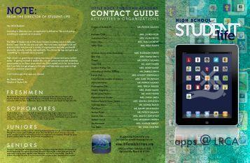 View Student Life Brochure - Little Rock Christian Academy