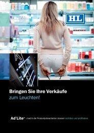 Ad'Lite™ Broschüre - HL Display