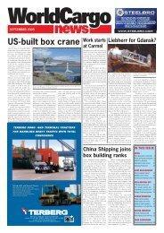 US-built box crane - WorldCargo News Online