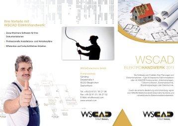 Flyer WSCAD Elektrohandwerk