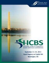 September 11–14, 2011 Hyatt Regency on Capitol Hill Washington ...