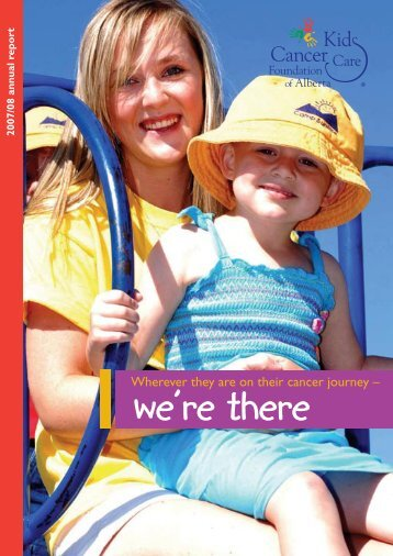 2007/08 Annual Report & Financial Statements - Kids Cancer Care