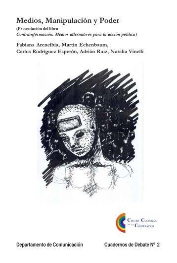"""MEDIOS, MANIPULACIÃ""""N Y PODER Varios autores"""