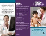 PREP Reference on CD-ROM - American Academy of Pediatrics