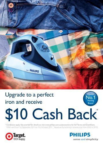 10 Cash Back - Philips Promotions