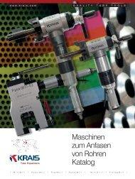 Maschinen zum Anfasen von Rohren Katalog - KRAIS Tube ...