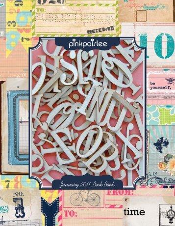 January 2011 Look Book - Pink Paislee