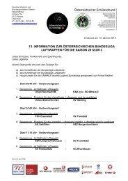 13. information zur österreichischen bundesliga luftwaffen für die ...