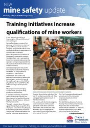 MSU August 2012 - NSW Department of Primary Industries, Minerals ...