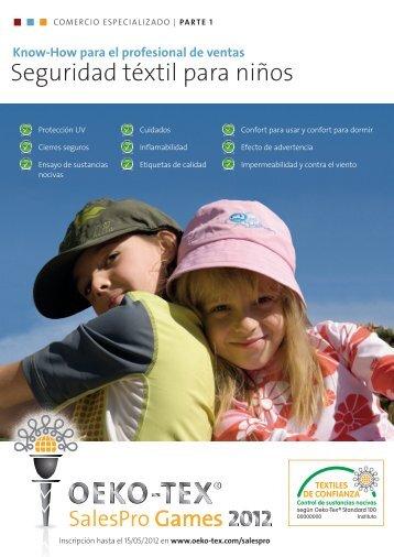Seguridad téxtil para niños - Oeko-Tex