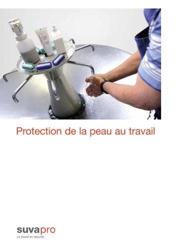 Protection de la peau au travail - Suva