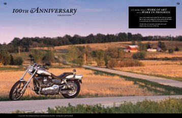 100th Anniversary the collection - Harley-News