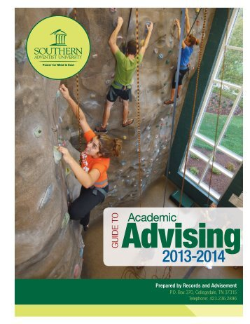 Guide to Academic Advising - Southern Adventist University