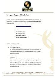 Parmigiano Reggiano X-Mas Challenge - Gourmet-Connection
