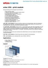 ertex solar - VSG-print modules - Photovoltaik