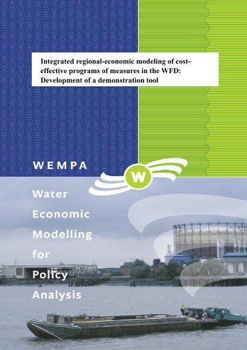 Wempa report 08 - VU University, Institute for Environmental Studies ...