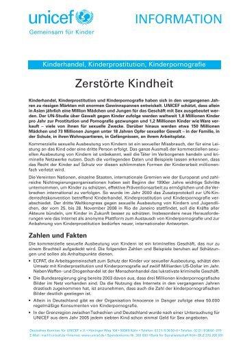 Zerstörte Kindheit (pdf / 798 KB) - younicef.de