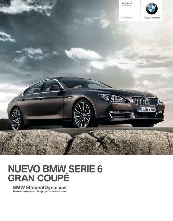 NUEVO BMW SERIE  GRAN COUPÉ construido para personas ...