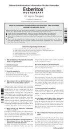 Esberitox® Hustensaft - Schaper & Brümmer
