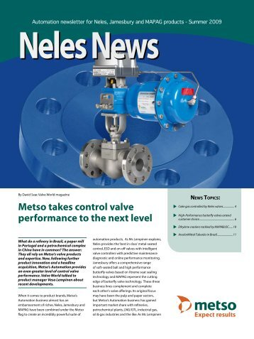 Automation newsletter for Neles, Jamesbury and MAPAG ... - Metso