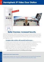 Product Datasheet: Mobotix T24M-SEC-D11 - Network Webcams