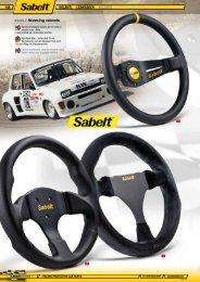 SABELT Steering wheels - Jec Import SA